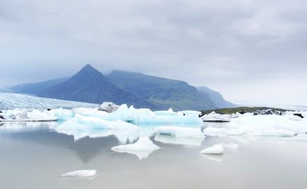La fonte des glaciers, preuve du réchauffement climatique