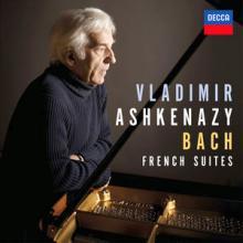 CD Bach French suites par Vladimir Ashkenazy