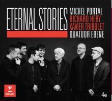 CD Eternal Stories Michel Portel et Quatuor EBENE