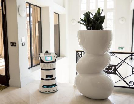 Robot Diya One, le robot bien-être de Partnering Robotics