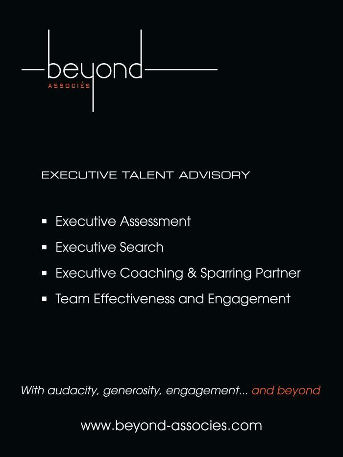 Page de publicité pour Beyond Associés