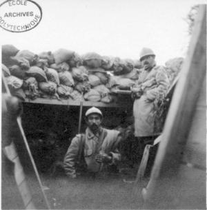 Photo de tranchée 1914
