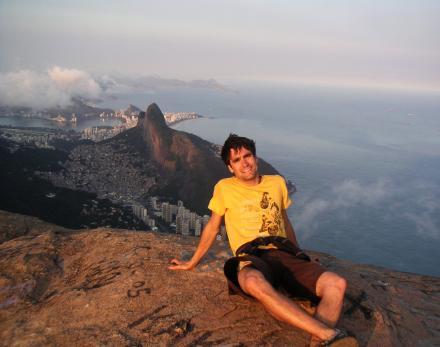 Alexis LOIREAU (98) au Brésil