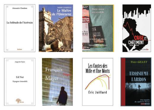 Présentation de huit livres polytechniciens