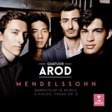 CD : MENDELSSOHN PAR LE QUATUOR AROD