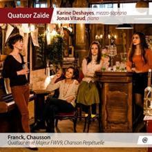 CD : FRANCK PAR LE QUATUOR ZAÏDE