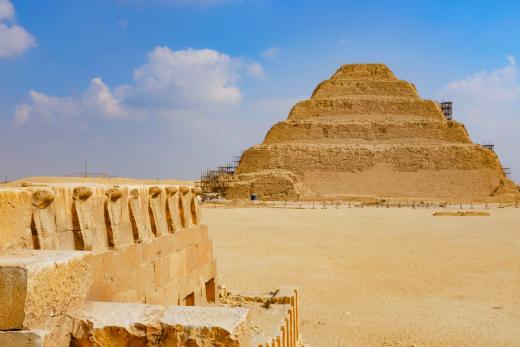 Une pyramide