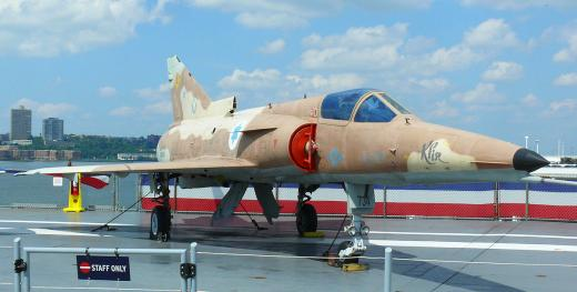 Un avion de combat Kfir (Israël)
