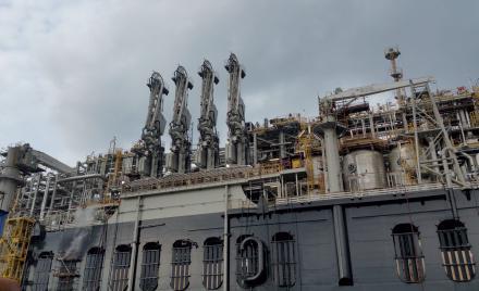 PRELUDE, usine de gaz off-shore