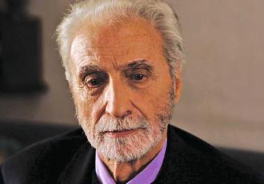 Paul Vecchiali jouant dans son film Le Cancre, 2016.
