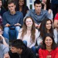 Bachelor promotion 2017 de l'École polytechnique - beaucoup de filles