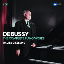 Œuvres piano complètes de Debussy par Walter Gieseking