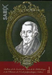 60e bulletin de la Sabix sur LOUIS-BERNARD GUYTON DE MORVEAU (1737-1816)