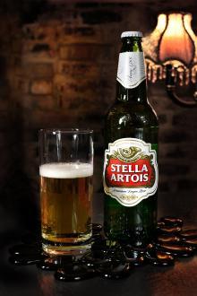 Une bierre Stella Artois
