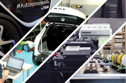 Diverses activités de FAAR Industry
