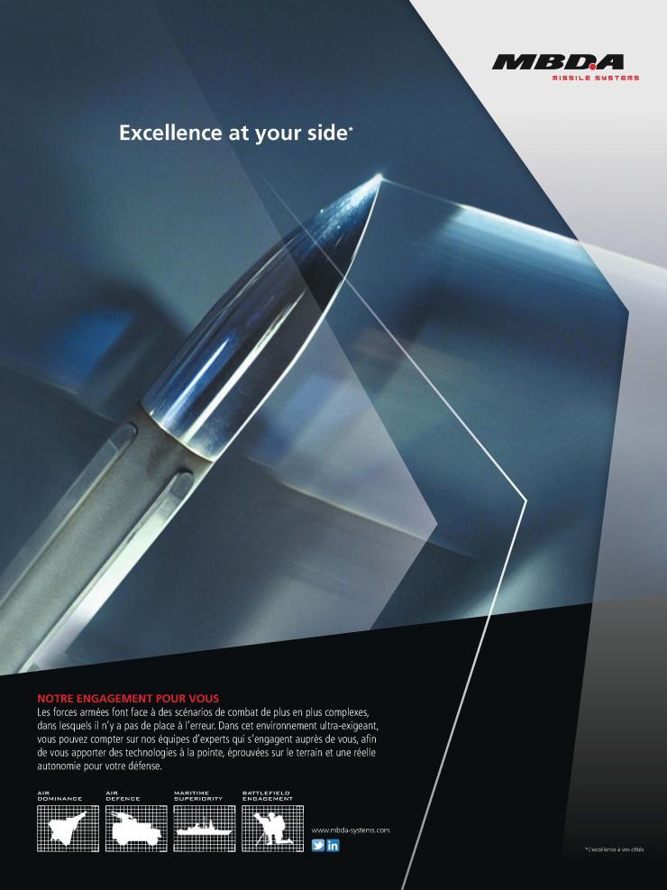 Page de publicité MBDA