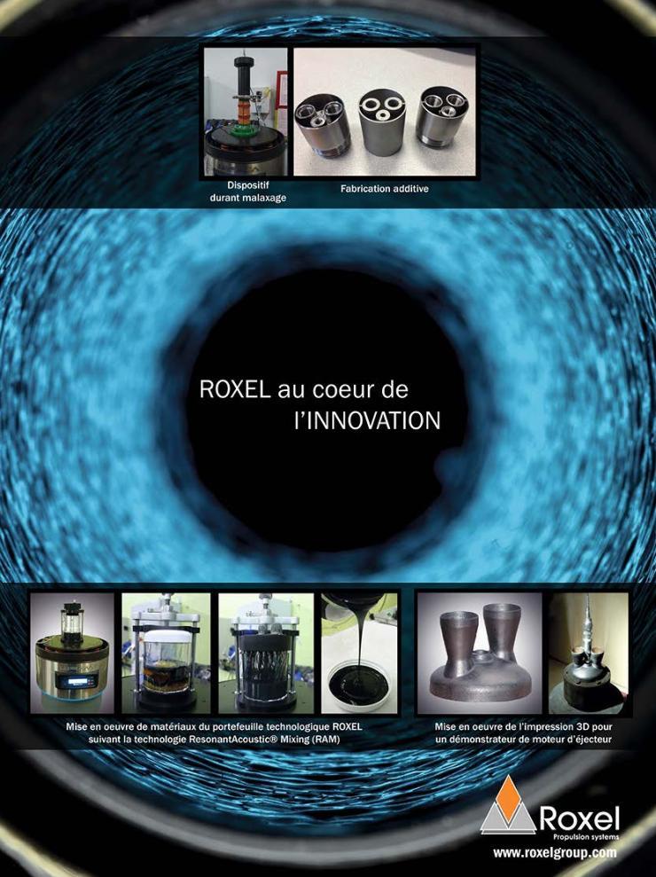 Page de publicité ROXEL