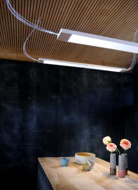 Luminaire à fibres optiques de la Société ECHY