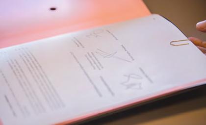 Le parapheur pour la signature de la Charte X-AX-FX