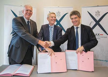 Les présidents ont signé la charte X-AX-FX