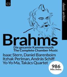 Blueray : intégrale de la musique de chambre de Brahms