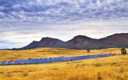 Panneaux solaires en Australie