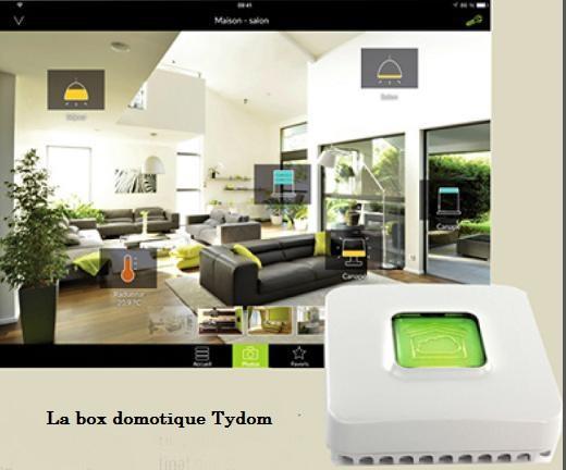 La box domotique Tydom de Delta Dore