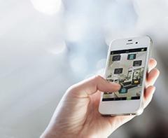 Visualisation sur smartphone de l'application Tydom de Delta Dore
