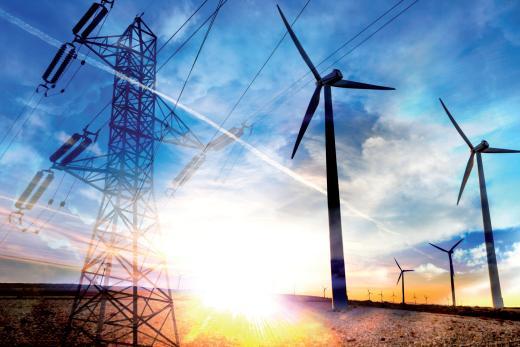 Effet de soleil sur éoliennes et transport électrique