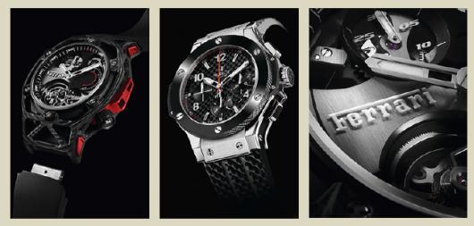3 montres de luxe HUBLOT