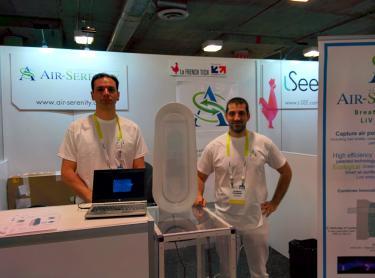 M. Coutière & J. Youssef au CES - Air Serenity