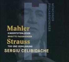 CD Celibidache en concert Mahler et Strauss