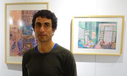 Julien SOLÉ dans son exposition