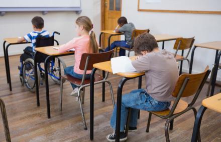 Handicapé à l'école