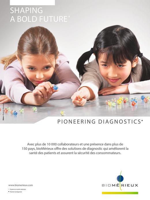 Page de pblicité bioMérieux