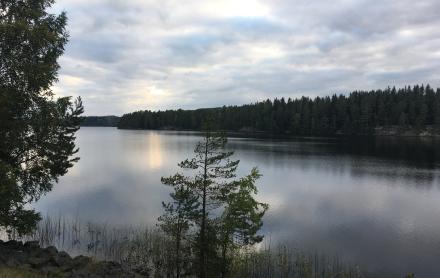 Un lac suédois