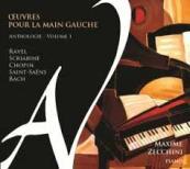 CD Œuvres pour la main gauche volume 1 par Maxime Zecchini