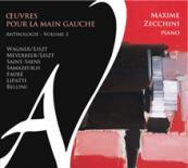 CD Œuvres pour la main gauche volume 3 par Maxime Zecchini