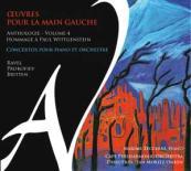CD Œuvres pour la main gauche volume 4 par Maxime Zecchini