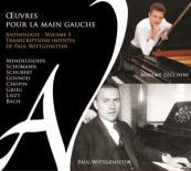 CD Œuvres pour la main gauche volume 5 par Maxime Zecchini