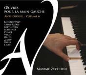CD Œuvres pour la main gauche volume 6 par Maxime Zecchini