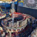 Le complexe Tokamak ITER en construction