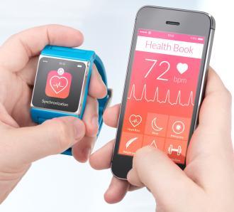 Smartphone et montres connectés santé