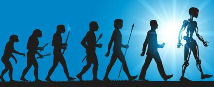 L'évolution humaine vers l'intelligence artificielle
