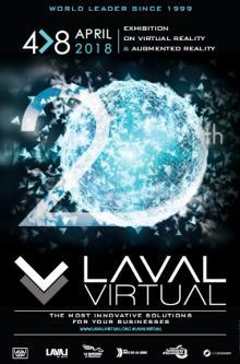 Affiche du Laval Virtual 2018