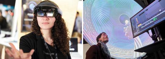 Un casque de réalité augmentée