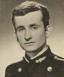 Patick FLEURY (55) en Grand uniforme de l'École polytechnique