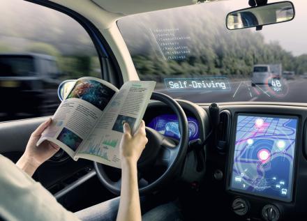 Véhicule à conduite autonome
