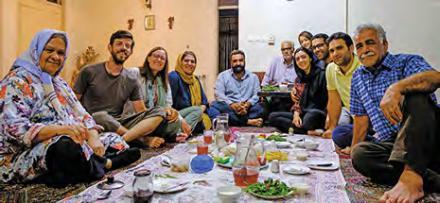 Hospitalité en Iran