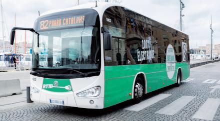 bus électrique à Marseille